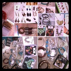 HUGE jewelry bundle- >50 items-all together